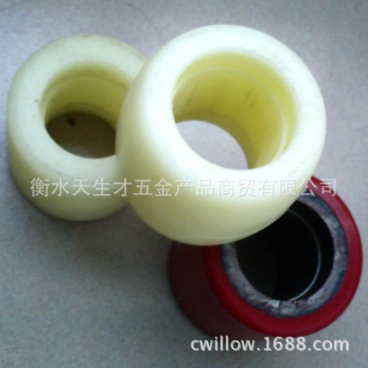 铁芯PVC叉车轮-4