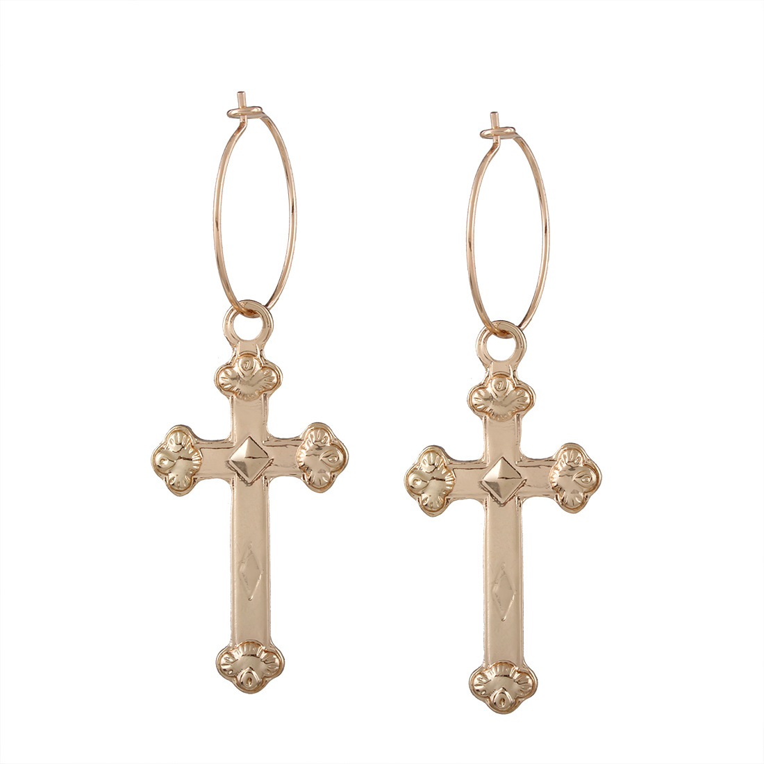 Occident and the United States alloy plating earring (earring)NHNMD3746-earring