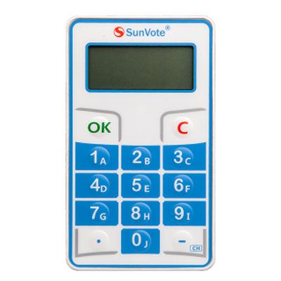 中天电子SunVote投票器M52Plus 会议投票器表决器评分器厂家直销