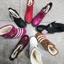 冬季新款童鞋杂款 儿童冬季棉鞋棉靴杂款处理 女童中童加棉棉靴子