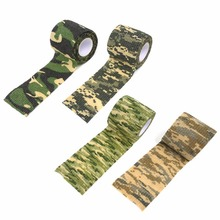 Self-adhesive telescopic camouflage camouflage outdoor hunting hunting camouflage camouflage tape tape riding bicycle sticker