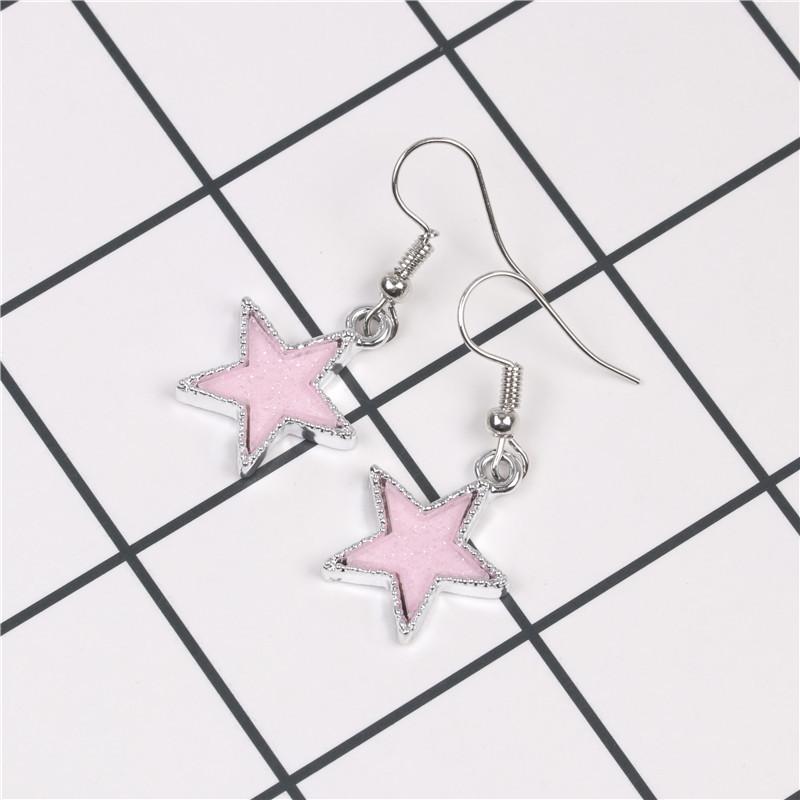 Pentagram earrings jewelry wholesale star earrings NHYL183957