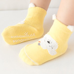 New autumn and winter cartoon cotton baby socks boneless loose mouth baby floor socks 0-1-3 years old