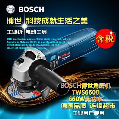BOSCH/博世TWS6600电动角磨机多功能砂轮手磨机金属角向打磨机