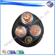 优质低烟无卤 阻燃矿用交联 电力电缆 WDZA-MYJE-0.6-1kV-3X185