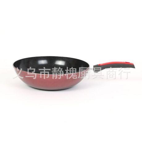 32cm không dính chảo chảo tráng không khói doanh nghiệp Hàn Quốc bán buôn tùy chỉnh mở món quà nồi Bộ dụng cụ nấu ăn