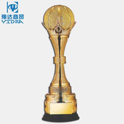 北京奖杯金银铜高档篮球MVP新款树脂造型奖杯篮球比赛3vs3奖杯