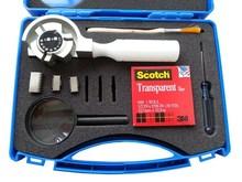 多用型旋轉式三合一百格刀QFH-A型漆膜劃格器附著力測試儀百格刀