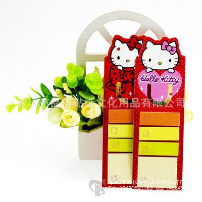 日本外贸 定制生产 Hello kitty 高要求全检便利贴 便签本