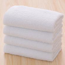 高阳毛巾批发?#39057;?#27611;巾定制纯棉洗浴美容面巾厨房保洁白毛巾日用品