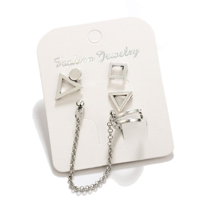 Fashion Alloy plating Earrings Geometric (Alloy)  NHGY0979-Alloy