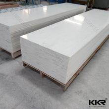 品牌仿色冰川白人造石 复合亚克力纯色净色人造石 洗手台面原材料