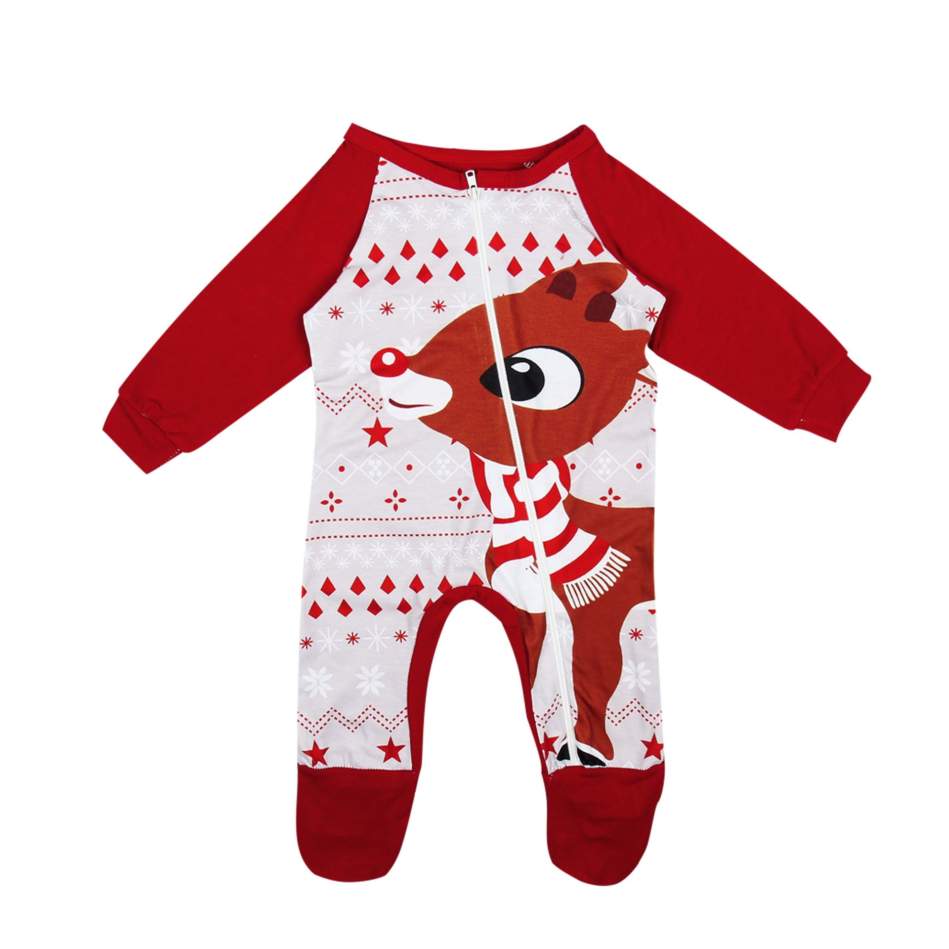 14 Styles Family Matching Christmas Pajamas Sets XMAS Sleepwear ...