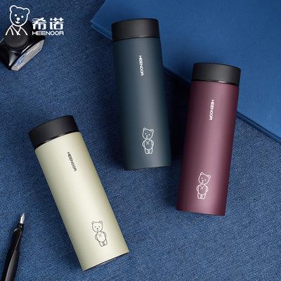 货源希诺304不锈钢保温杯XN-9602男女士商务水杯茶杯定制logo批发