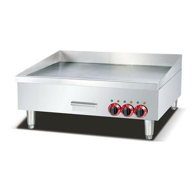 富祺16MM铁板烧扒炉 380V商用24寸/36寸/48寸电热煎炒铁板扒炉