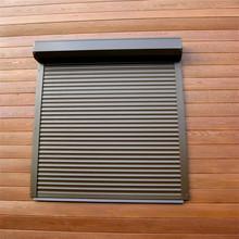 厂家生产 欧式时尚优质 铝合卷帘门窗 电动