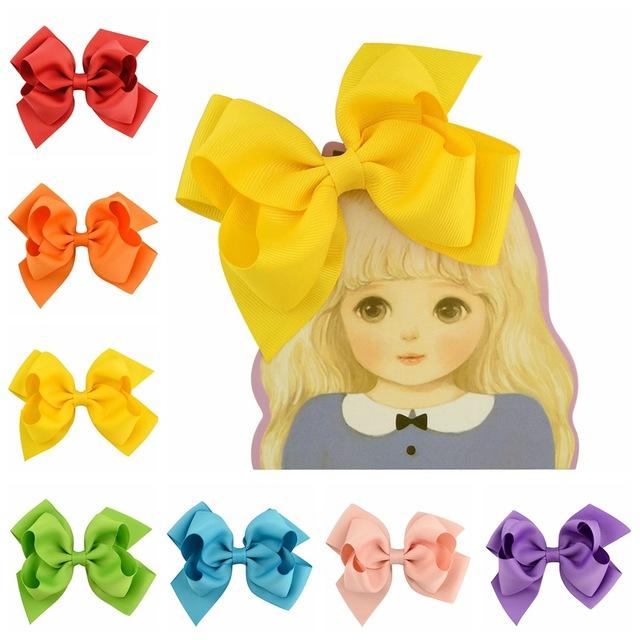 外贸蝴蝶结翘翘花 发夹欧美儿童发饰工厂直供现货批发 670