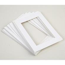 厂家直销长方形相框卡纸专用装裱内衬卡纸定做画框卡纸一件代发
