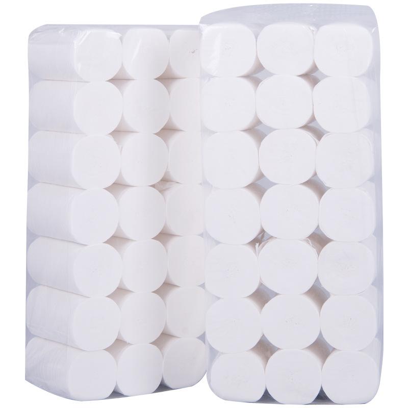 雪木森6斤木浆小卷卫生纸母婴用纸餐厅用纸厕所用纸卷纸批发包邮