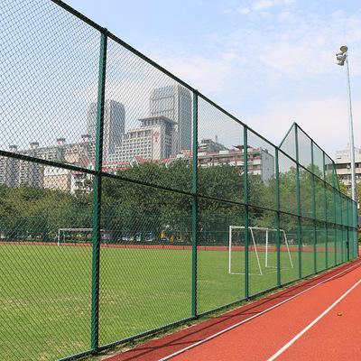 珠海公园篮球场围网施工  篮球场围网需要的高度 4米高篮球场围网