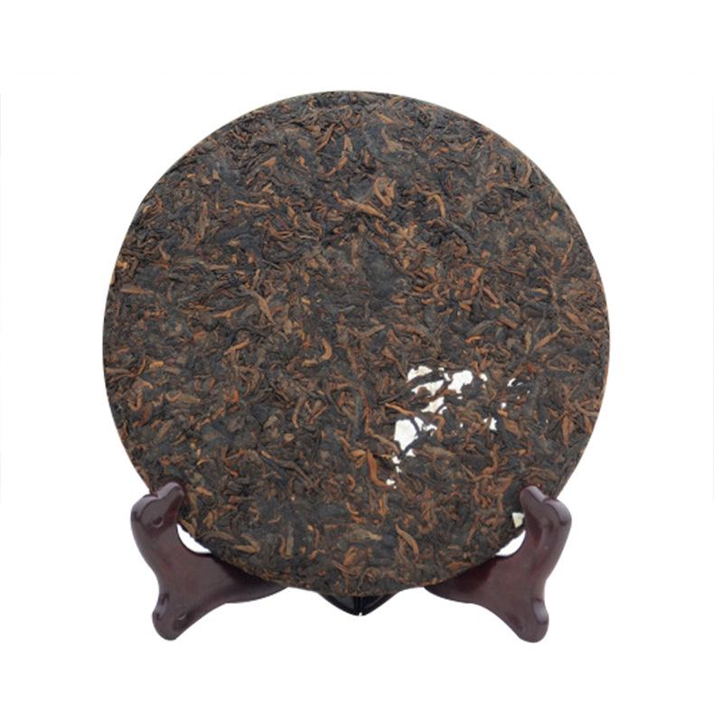 云南普洱熟茶茶饼现货批发  年份普洱七子饼357g勐海普洱茶饼