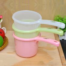 日本进口塑料水勺厨房水瓢婴儿浴勺宝宝洗澡沐浴儿童水勺