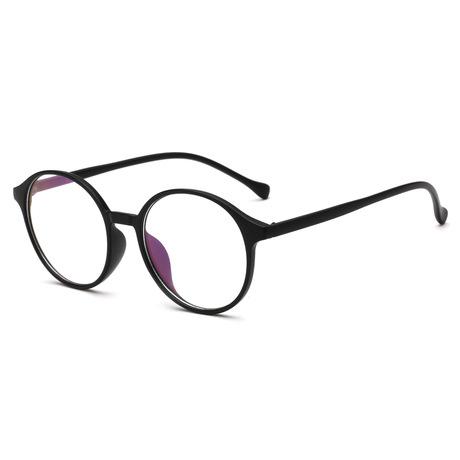 Gương phẳng Oleo 8062 kính tròn retro gọng kính 2018 kính mới khung văn học nam nữ mắt