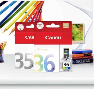 Canon佳能35墨盒IP100IP110打印机墨盒PGI35黑色CLI36彩色