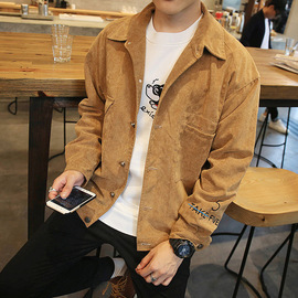 Spring and Autumn Men's New Jacket Casual Jacket Youth Outerwear Men's Fashion Autumn Men's Wear  JC
