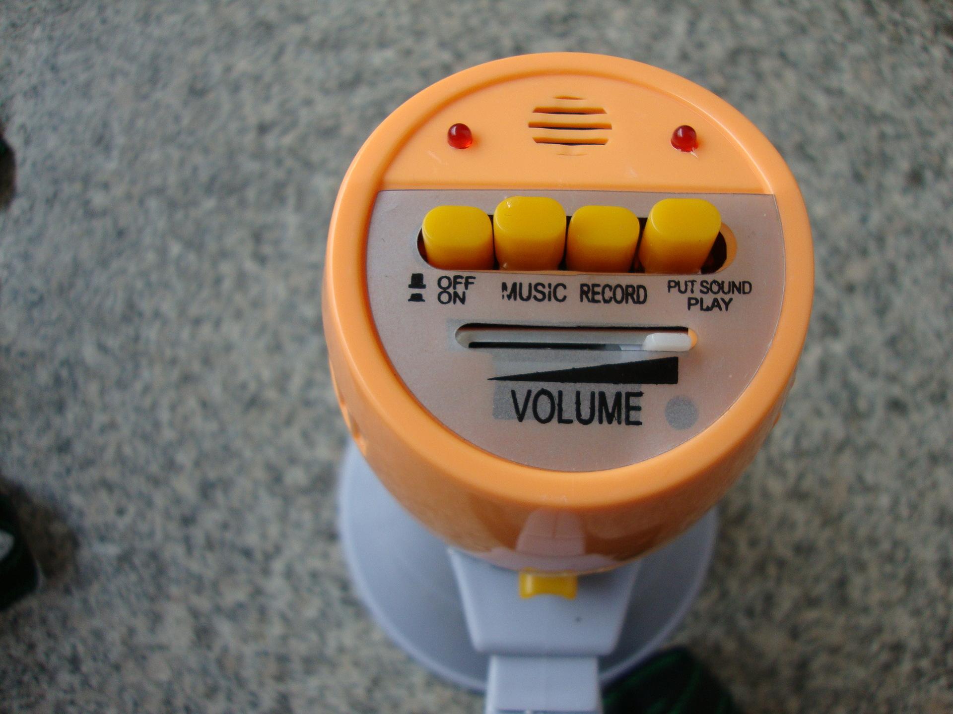 HQ-108导游喊话器 扩音器 手持式录音喊话器 不配电源