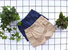 童装 婴童码 夏季短裤童装批发 全棉半松紧腰儿童短裤