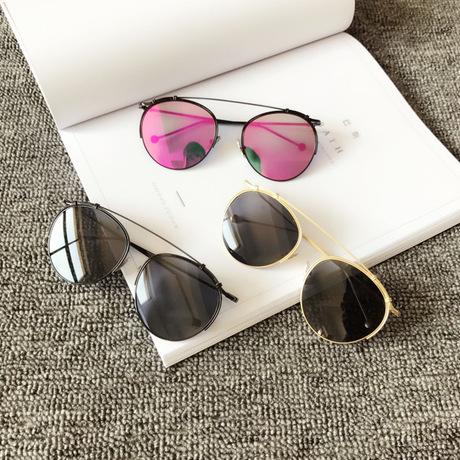 Màu đỏ ròng với cùng một chiếc kính râm nữ 2017 mùa hè mới Hollywood kính râm mỏng thời trang gấu trúc