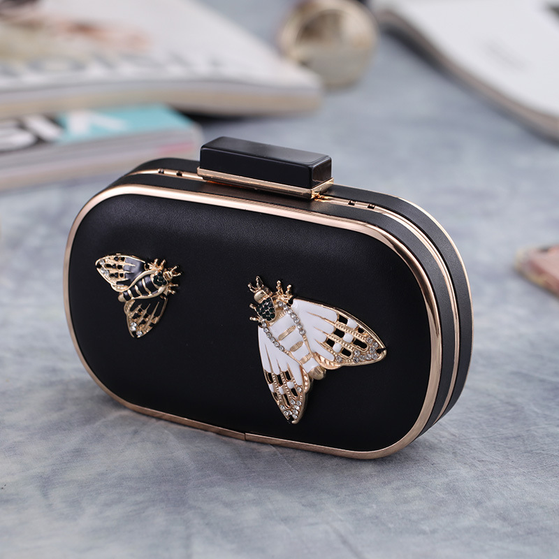 Bow evening dinner bag nightclub handbag fashion bag NHYG174757