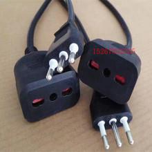 供应巴西电源线 巴西插头线 意大利插头pvc电线 意大利插头电源线