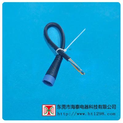 三芯自锁式防水连接器母插