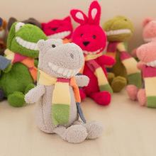 8寸精品娃娃微笑露齒公仔毛絨大牙玩偶抓機毛絨玩具齜牙 抓機娃娃