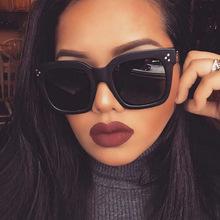 2016新款时尚方框太阳镜 韩版炫彩反光墨镜 个性潮流太阳眼镜批发