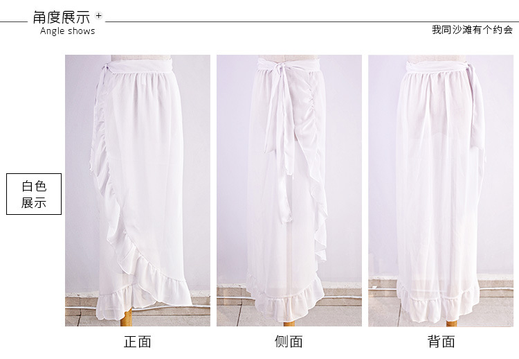Polyester Fashiondress(white) NHXW0170-white