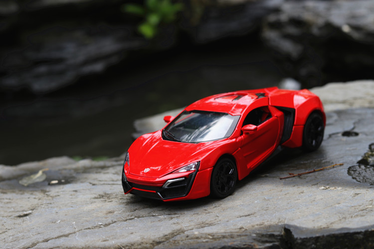 red color Sport Toy Car