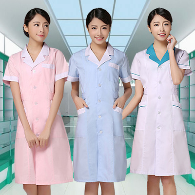 Pharmacy service doctor service nurse service long and short sleeves white coat thickened work clothes customization