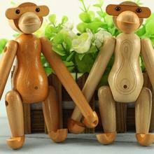 创意手机支架木质多功能桌面卡通手机座懒人实木可旋转猴子支架
