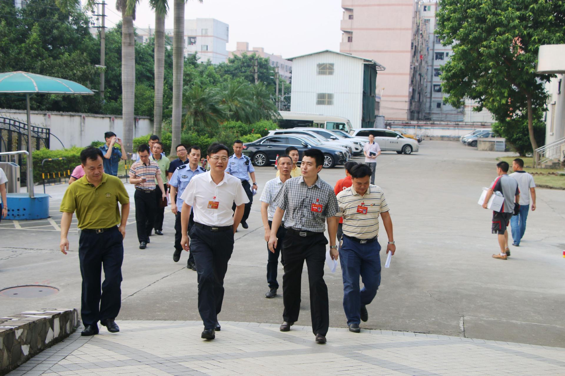 黨代表來訪紫光日東