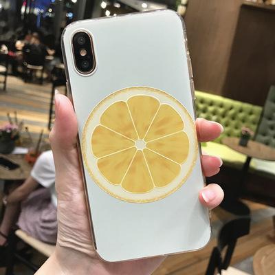 Apple 8 mới sáng tạo bộ điện thoại di động 6 cộng với tươi sơn nổi silicone vỏ mềm iphone x vỏ điện thoại di động