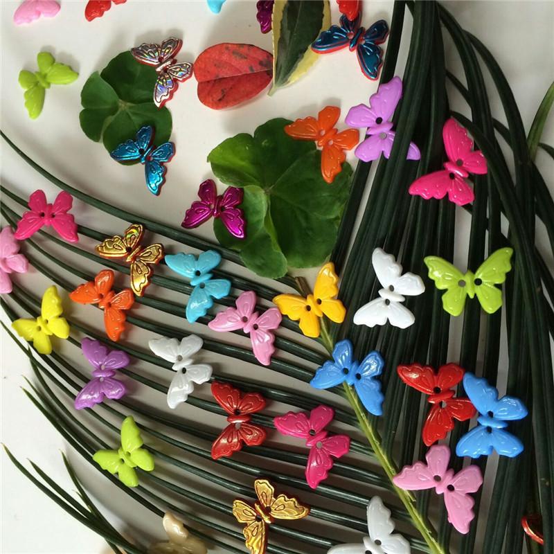 童裝紐扣 ABS塑料環保紐扣 卡通扣 蝴蝶紐扣 現貨供應