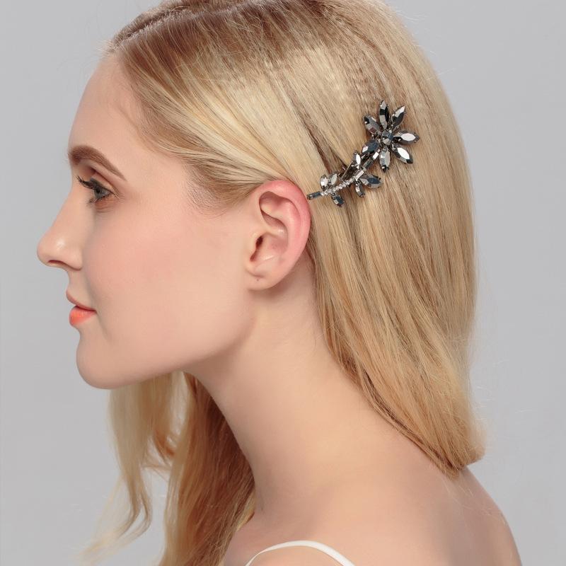 Alloy Fashion Geometric Hair accessories  white NHHS0054white