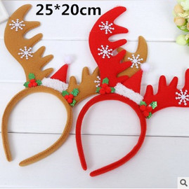 Children's Gifts Christmas Decorations Creative Gifts Santa Snowman Tree Party Dress Up Supplies Props