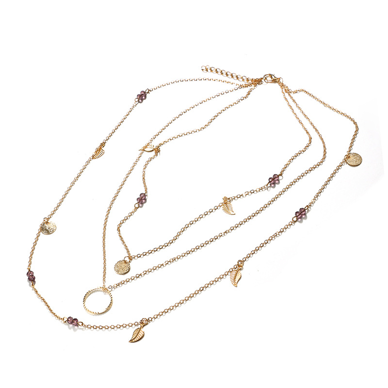Fashion Alloynecklace(Gold)NHGY0772-Gold