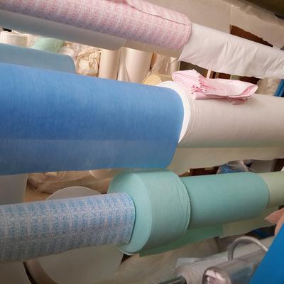 新价供应多种植物纤维点断水刺无纺布_厂家生产多种水刺布和制品