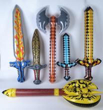 充气玩具兵器斧头仿真海盗剑武器活动儿童道具刀宝剑厂家直销