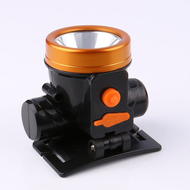 Outdoor Mini LED Charging Light 15w Hunting Lithium Battery Headlights with Carry Long Shots Fishing Lights